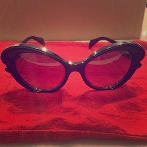 Prada Black Baroque sunglasses